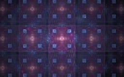 L'image produite par Digital faite en fractale colorée pour servir de contexte aux projets s'est rapportée à l'imagination, créat Photographie stock