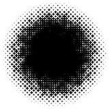 L'image tramée aiment l'élément des croix Image abstraite monochromatique Images stock