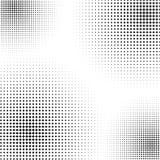 L'image tramée aiment l'élément des croix Image abstraite monochromatique Photos libres de droits