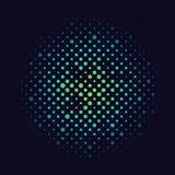 L'image tramée de gradient pointille le fond Calibre d'art de bruit illustration libre de droits
