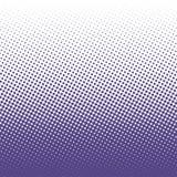 L'image tramée de vecteur pointille le fond Points ultra-violets sur le fond blanc illustration de vecteur