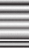 L'image tramée sans couture pointille des frontières d'effet Illustration Stock
