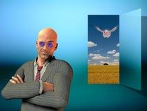 L'imagination devient réalité Photo libre de droits