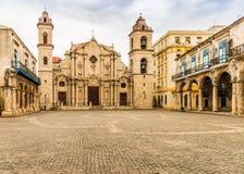 L'immacolata concezione di vergine Maria a Avana in Cuba immagini stock libere da diritti