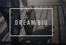 L'immaginazione di sogno immagina la visione per ispirare il concetto fotografie stock libere da diritti