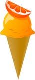 L'immaginazione ha decorato il gelato Fotografie Stock Libere da Diritti