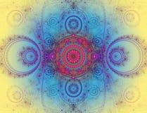 L'immagine astratta di frattalo di colore. Fotografie Stock Libere da Diritti