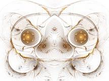 L'immagine astratta di frattalo di colore. Immagini Stock