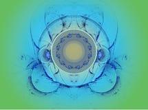L'immagine astratta di frattalo di colore. Fotografia Stock