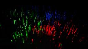 l'immagine astratta di luce variopinta esplode Colore chimico immagine stock