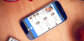 L'immagine composita 3d dell'università online aggiunge Fotografia Stock