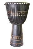 L'immagine del tamburo africano etnico Immagini Stock