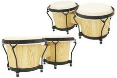 L'immagine del tamburo africano etnico Fotografie Stock Libere da Diritti