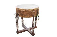 L'immagine del tamburo indiano americano etnico fotografia stock