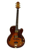 L'immagine della chitarra elettrica Fotografia Stock Libera da Diritti