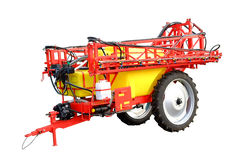 L'immagine della macchina agricola Fotografie Stock