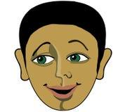 L'immagine della persona, l'uomo sorridente Immagine Stock Libera da Diritti