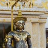 L'immagine di Buddha ha nominato Phra Buddha Maha Thammaracha negli impiegati di Traiphum Fotografia Stock Libera da Diritti