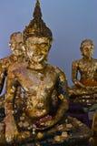 L'immagine di Buddha nel padiglione, Fotografie Stock