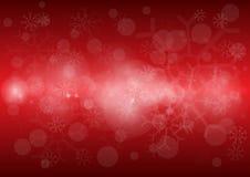 L'immagine di sfondo rossa della luce del bokeh Fotografie Stock