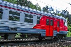 L'immagine di un treno Fotografie Stock Libere da Diritti