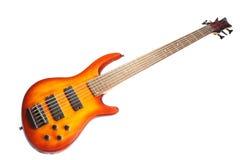 L'immagine di una chitarra fotografia stock libera da diritti