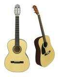 L'immagine di una chitarra immagini stock