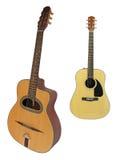 L'immagine di una chitarra immagine stock libera da diritti