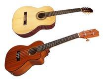 L'immagine di una chitarra fotografia stock