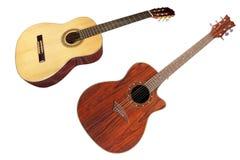 L'immagine di una chitarra fotografie stock libere da diritti