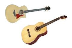 L'immagine di una chitarra immagine stock
