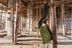 L'immagine mostra l'altra costruzione domestica Fotografia Stock