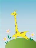 L'immagine stilizzata di una giraffa Fotografia Stock Libera da Diritti