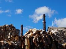L'immondizia riempirà il pavimento del pianeta Fotografia Stock Libera da Diritti