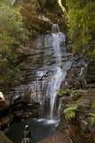 L'impératrice tombe les montagnes bleues Australie Images stock