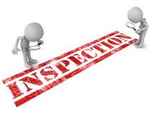Inspection illustration libre de droits