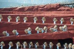 L'impressione Lijiang è ballo tradizionale in Cina. Fotografie Stock