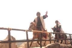 L'impressione Lijiang è ballo tradizionale in Cina. Immagini Stock