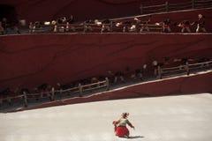 L'impressione Lijiang è ballo tradizionale in Cina. Fotografia Stock Libera da Diritti