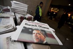 L'inauguration présidentielle de Barack Obama image stock