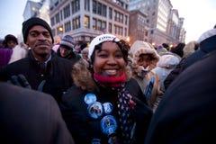 L'inauguration présidentielle de Barack Obama Images stock