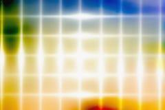 L'incandescenza allinea il fondo astratto Raggi di indicatore luminoso immagine stock