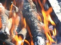 L'incendie Photographie stock libre de droits
