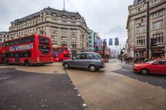 L'incrocio del circo di Oxford a Londra, Regno Unito Immagini Stock