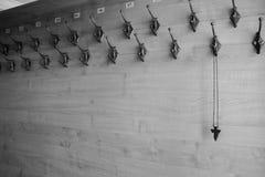 L'incrocio sul gancio, il posto della religione nella società Fotografie Stock Libere da Diritti