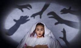 L'incubo del bambino Immagine Stock Libera da Diritti