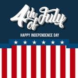 l'indépendance américaine de jour Photos stock