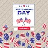 L'indépendance day4 illustration libre de droits