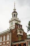 L'indépendance Hall à Philadelphie Image libre de droits