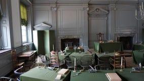 L'indépendance Hall à Philadelphie Images libres de droits